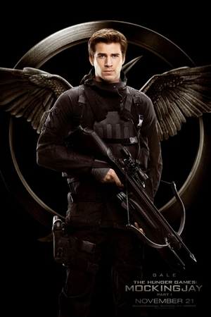 The Hunger Games: Mockingjay Part 1 Gale poster