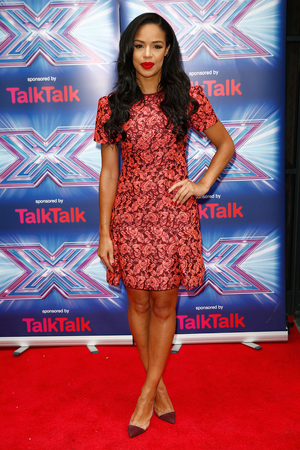 LONDON, ENGLAND - AUGUST 27: Sarah Jane Crawford attends the press launch for the new series of 'The X Factor' at Ham Yard Hotel on August 27, 2014 in London, England. (Photo by Tim P. Whitby/Getty Images)