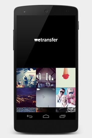 WeTransfer app for Android