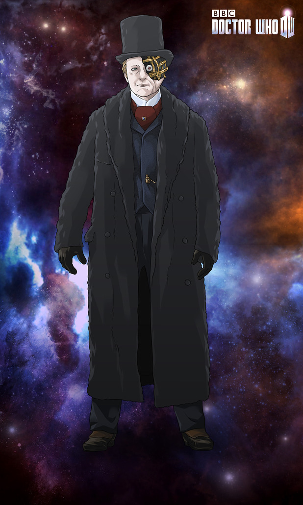 The Half-Face Man in Doctor Who Legacy's season eight content