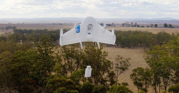 Google's Project Wing delivery drones