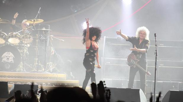Lady Gaga joins Queen on stage in Sydney