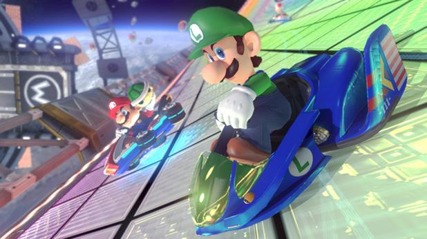 F-Zero Mario Kart 8 DLC