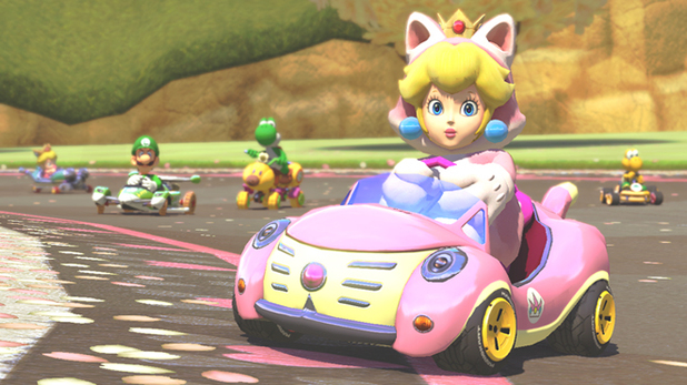 Cat Peach Mario Kart 8 DLC
