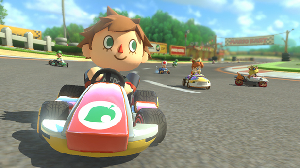 Animal Crossing Mario Kart 8 DLC
