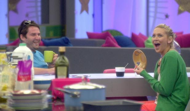 Celebrity Big Brother Day 7: George & Stephanie