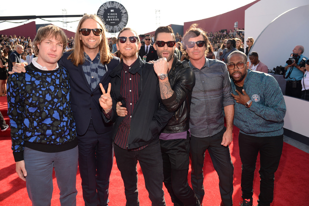 Maroon 5 at the MTV Video Music Awards 2014