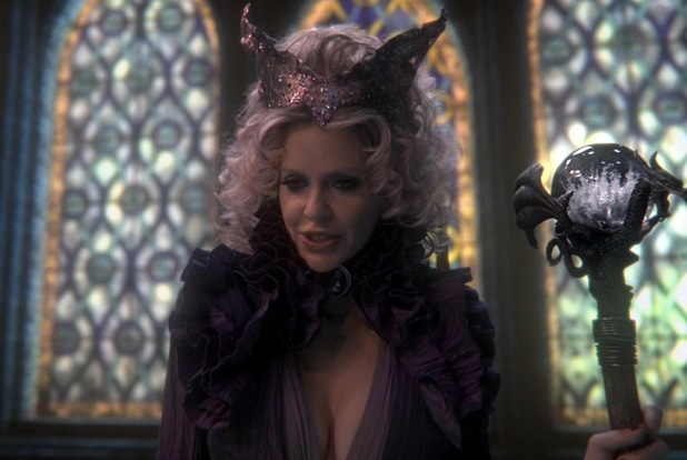 Kristin Bauer van Straten as Maleficent in Once Upon a Time