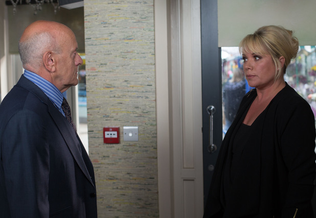 Sharon tells Marcus Christie the deal's off