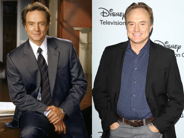 The West Wing stars - then and now: Bradley Whitford