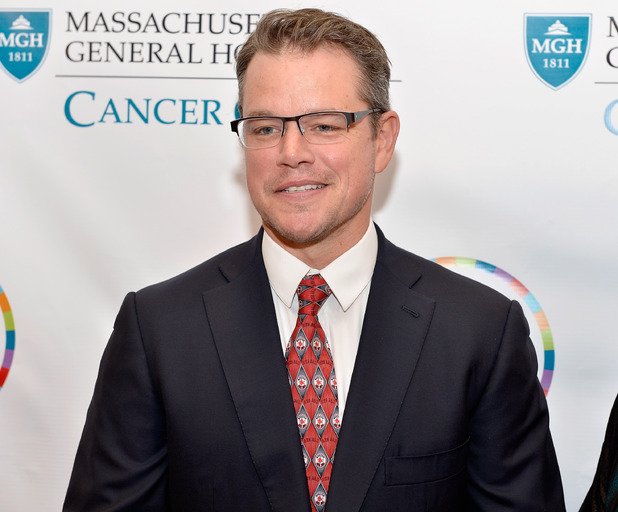 BOSTON, MA - JUNE 10: Actor Matt Damon attends the Mass General Hospital Cancer Center's 7th annual 'the one hundred' Event at the Westin Boston Waterfront Hotel on June 10, 2014 in Boston, Massachusetts. (Photo by Paul Marotta/Getty Images)