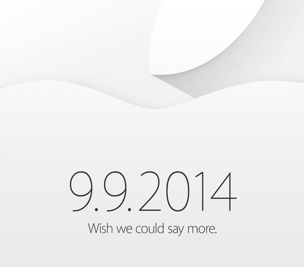 Apple iPhone 6 invitation