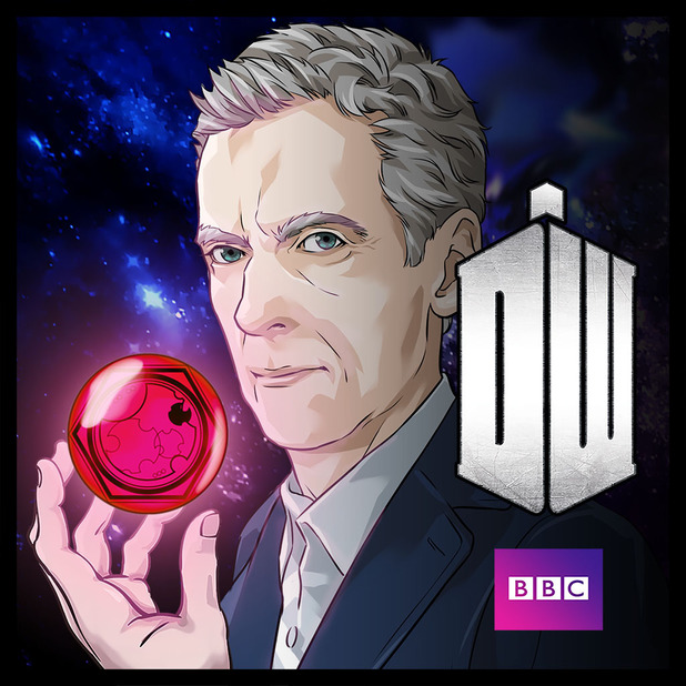Peter Capaldi in Doctor Who Legacy's season eight content
