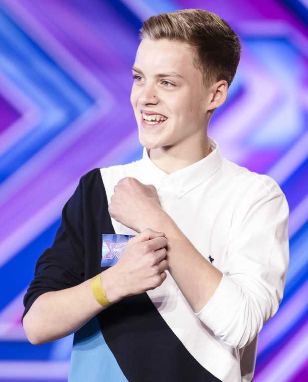 X Factor Auditions Week 1 Episode 1: Reece Bibby