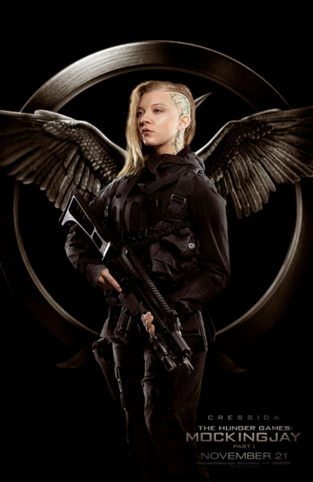 The Hunger Games: Mockingjay Part 1 character posters