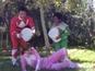 Karen Gillan's Power Rangers ice challenge