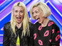 X Factor Blonde Electric want to tickle Simon