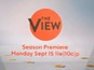 "Watch The View's ""change is good"" teaser"