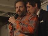 Dan Harmon and Jeff B Davis in Harmontown film