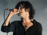 Matthew Healy of The 1975 performs on stage at Leeds Festival 2014