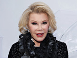 Joan Rivers attends the Elie Tahari presentation during Mercedes-Benz Fashion Week Fall 2014