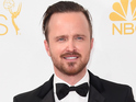 Aaron Paul attends the 66th Annual Primetime Emmy Awards