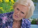 "Great British Bake Off host says that the incident on last night's show was ""unfortunate""."