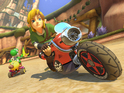 Play as Link, Tanooki Mario and Cat Peach in the first Mario Kart 8 update.