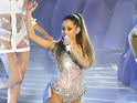 Ariana Grande performs during the MTV Video Music Awards 2014