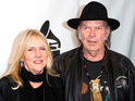 The legendary rocker files for divorce from his wife after 36 years together.