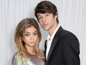Sarah Hyland and Matt Prokop attend the Glamour Women of the Year Awards