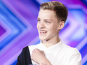 Teenager Reece Bibby gets a yes from each judge for acoustic version of 'Latch'.