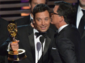 Gwen Stefani mispronounced Colbert Report while presenting an award at the Emmys.