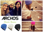 Archos Music Beanie hat transmits tunes to your head