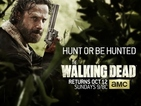 The Walking Dead reveals season 5 'Hunt or be hunted' poster