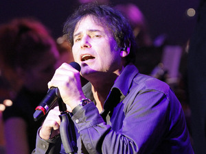 Jimi Jamison performs live during the concert Rock Meets Classic at the Max-Schmeling-Halle