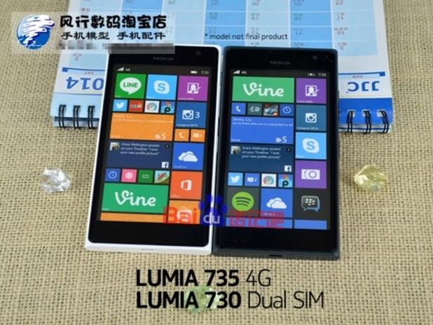 Purported photo of Nokia's Lumia 730 and 735