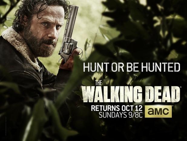 Season 5 poster for The Walking Dead