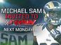 Footballer Michael Sam invited to WWE Raw