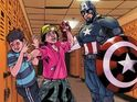 Marvel superheroes appear on special comic covers for anti-bullying campaign.