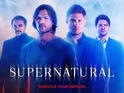 Image features Jared Padalecki and Jensen Ackles alongside Misha Collins and Mark Sheppard.