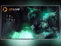 OnLive will work with Philips' Ambilight to change lighting according to colours on screen.