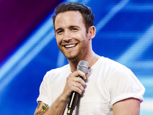 Jay James performs on The X Factor