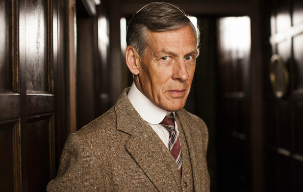 Douglas Reith as Lord Merton in Downton Abbey series 5 premiere