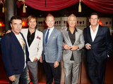 Spandau Ballet are awarded a PRS for Music Heritage award in London