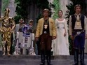 Climactic scene from Star Wars: A New Hope is pretty weird without music.