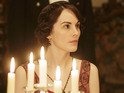 Michelle Dockery as Lady Mary Crawley in Downton Abbey series 5 premiere