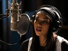 Alexandra Shipp appears in first Princess of R&B picture as Aaliyah