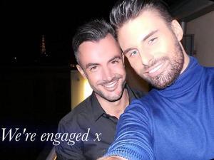 Rylan Clark, Dan Neal announce their engagement