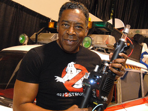 Ernie Hudson from the Ghostbusters series of films attends day 1 of the 25th annual Motor City Comic Con at Suburban Collection Showplace